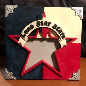Lone Star State (Texas) Picture Frame